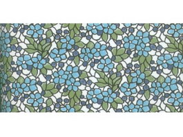 Patterned glass window texture