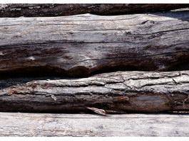 Crude wood texture