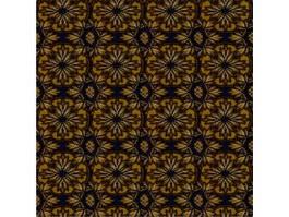 Tuft-printed carpet texture