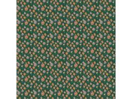 Floral printed carpet texture