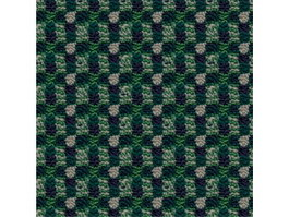 Coarse wool carpet with checkered patterns texture