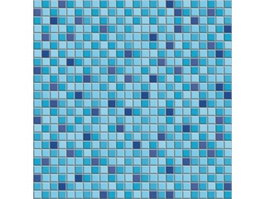 Swimming pool mosaic pattern texture