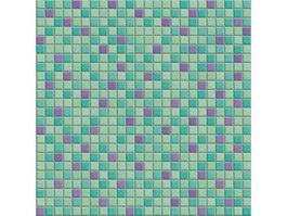 Inlaid mosaic surface texture