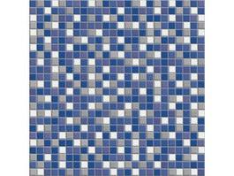 Four color mosaic pattern texture