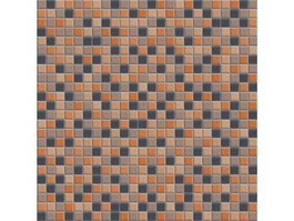 Mixed Color Floor Mosaic Pattern texture