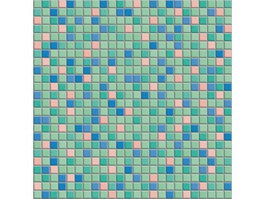 Square mosaic pattern texture