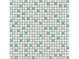 Green and white colors mosaic pattern texture