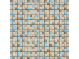 Mixed Stone Mosaic Tile Pattern texture