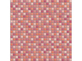 Mixed Red Mosaic Bump Pattern texture