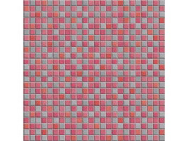 Pink mosaic wall tile pattern texture