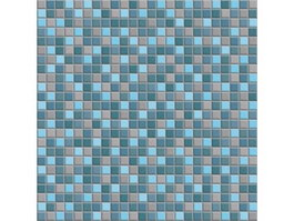 Mix Blue Swimming Pool Mosaic texture