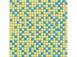 Mix color stone tile mosaic pattern texture