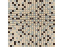 Mosaic tile pattern texture
