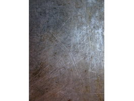 Dirty and scratch on metal surface texture