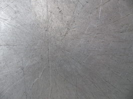Scratches on aluminum plates texture