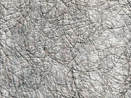 Crumpled aluminum paper texture