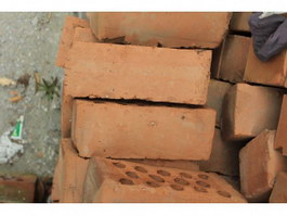 Fire-clay brick texture