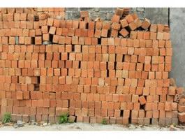 Old brick masonry wall texture