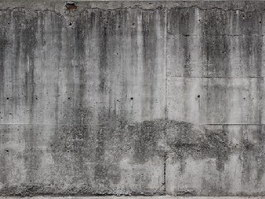 Reinforced concrete wall texture