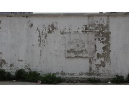 Smudged whitewashed wall texture