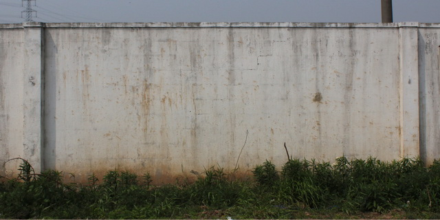Cement-soil pile wall texture