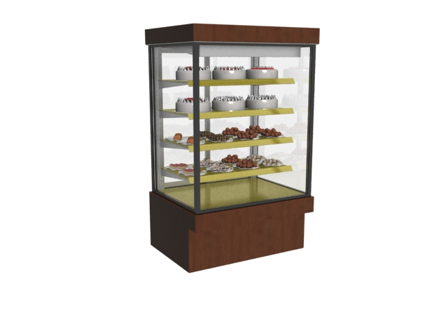 cake cabinet counter cake display 3d model 3dmax files
