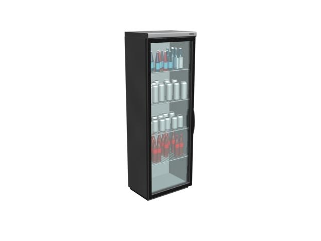 Upright Freezer Showcase 3d Model 3dmax Files Free