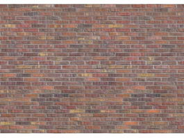 Old brick wall seamless pattern texture
