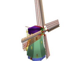 Big Windmill 3d model