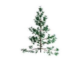 Artificial Christmas tree 3d model