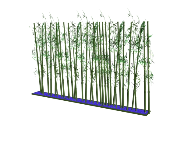 Decorative Bamboo 3d Model 3dsMax Files Free Download