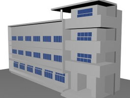 Teaching and Learning Building 3d model