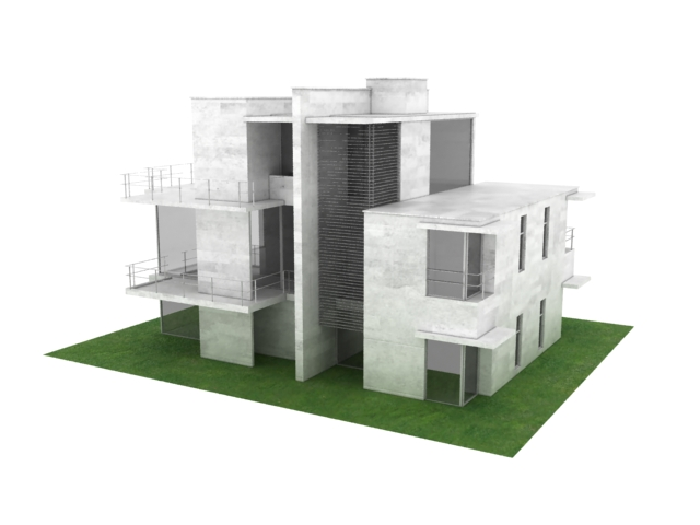 Villa residence 3d model 3dsmax files free download for Villas 3d model