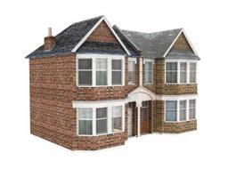 Rural house 3d model