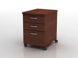 Storage filing cabinet 3d model