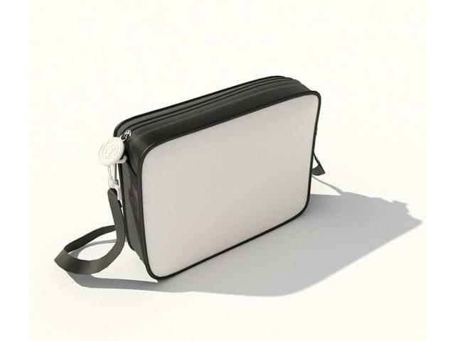 Canvas handbag 3d model - CadNav