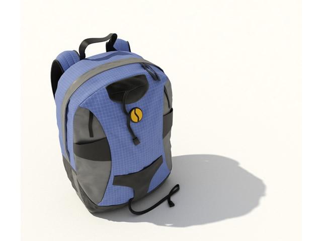 School Bags 3d model free download - cadnav com