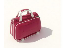 Fashion cosmetic bag 3d model