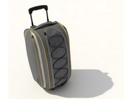 Trolley travel bag 3d model