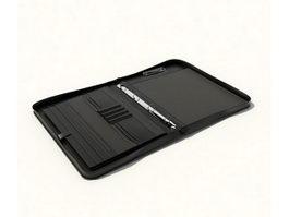 Zipper portfolio 3d preview