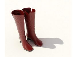 Lady kinky boots 3d model