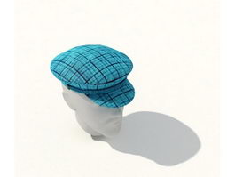 Fashion Ivy Cap 3d model