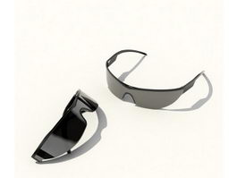 Sports Sunglasses 3d model