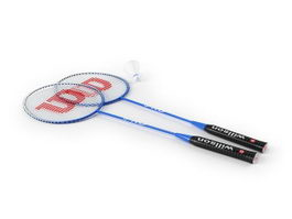 Badminton rackets set 3d model