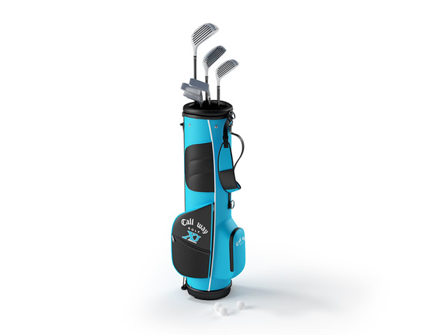 Golf Club Set 3d Model 3dsmax Files Free Download