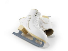 Ice hockey skate 3d model