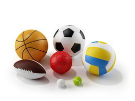 Ball combination 3d model