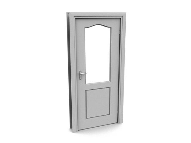 Bedroom Door 3d Model 3dsMax Files Free Download