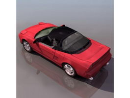 Honda Acura NSX Sports Car 3d model