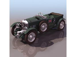 Bentley 8 Litre luxury car 3d model